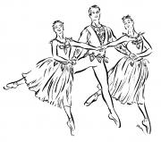Eemeralds Trio, Balanchine